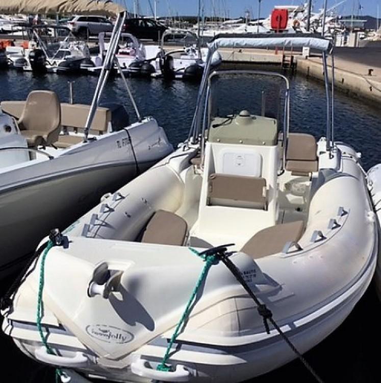 Verhuur Rubberboot in Hyères - Nuova Jolly 590 freedom