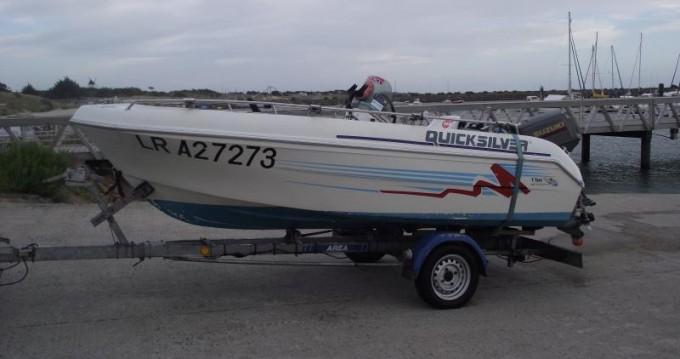 Verhuur Motorboot in Le Longeron - Quicksilver Quicksilver 450
