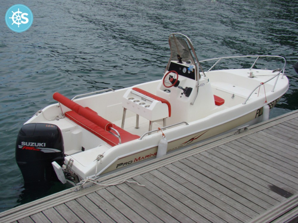 Verhuur Motorboot Pro Marine met vaarbewijs