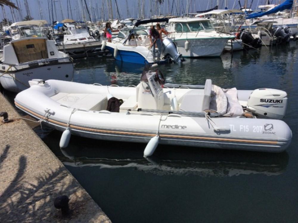 Huur Rubberboot met of zonder schipper Zodiac in Hyères