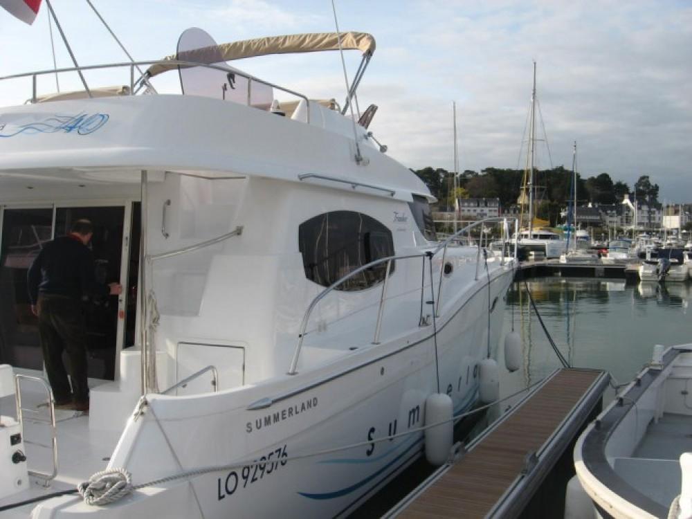 Verhuur Motorboot in La Trinité-sur-Mer - Fountaine Pajot Summerland 40