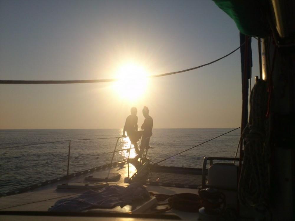 Verhuur Catamaran in Martinique - Chantier-Du-Lez plan carof lazzy 54