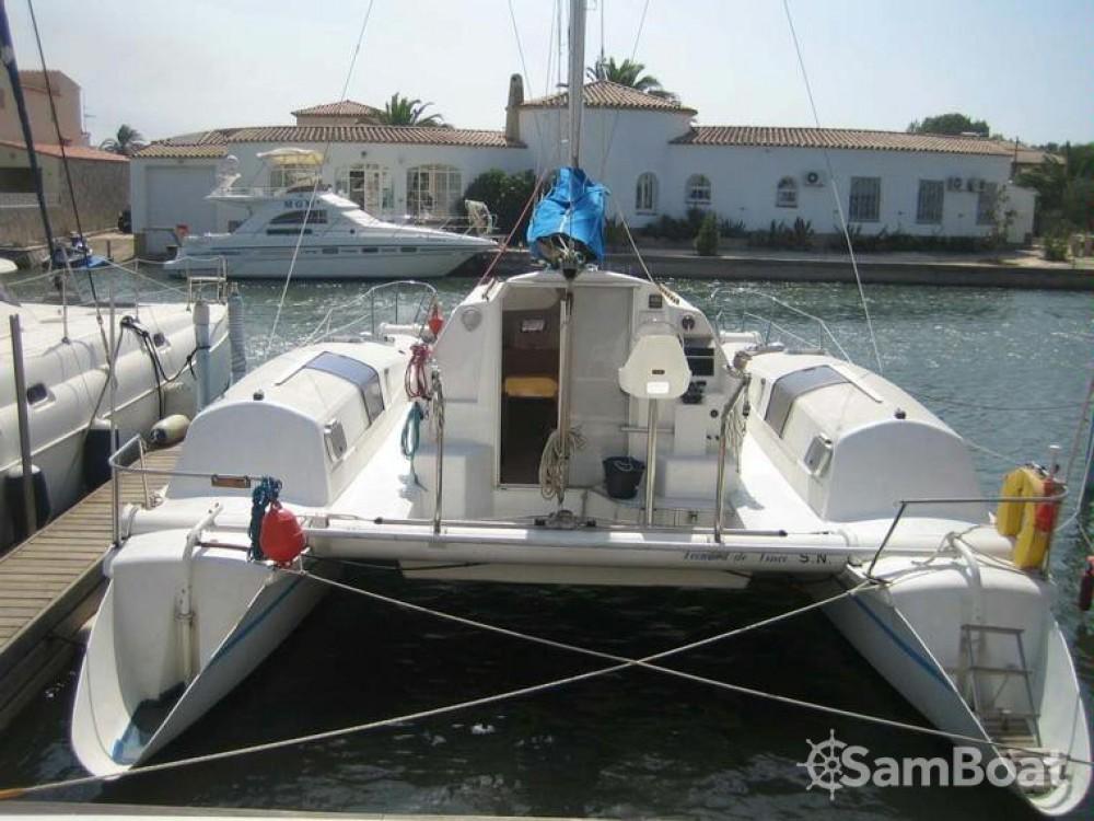 Verhuur Catamaran Edel met vaarbewijs