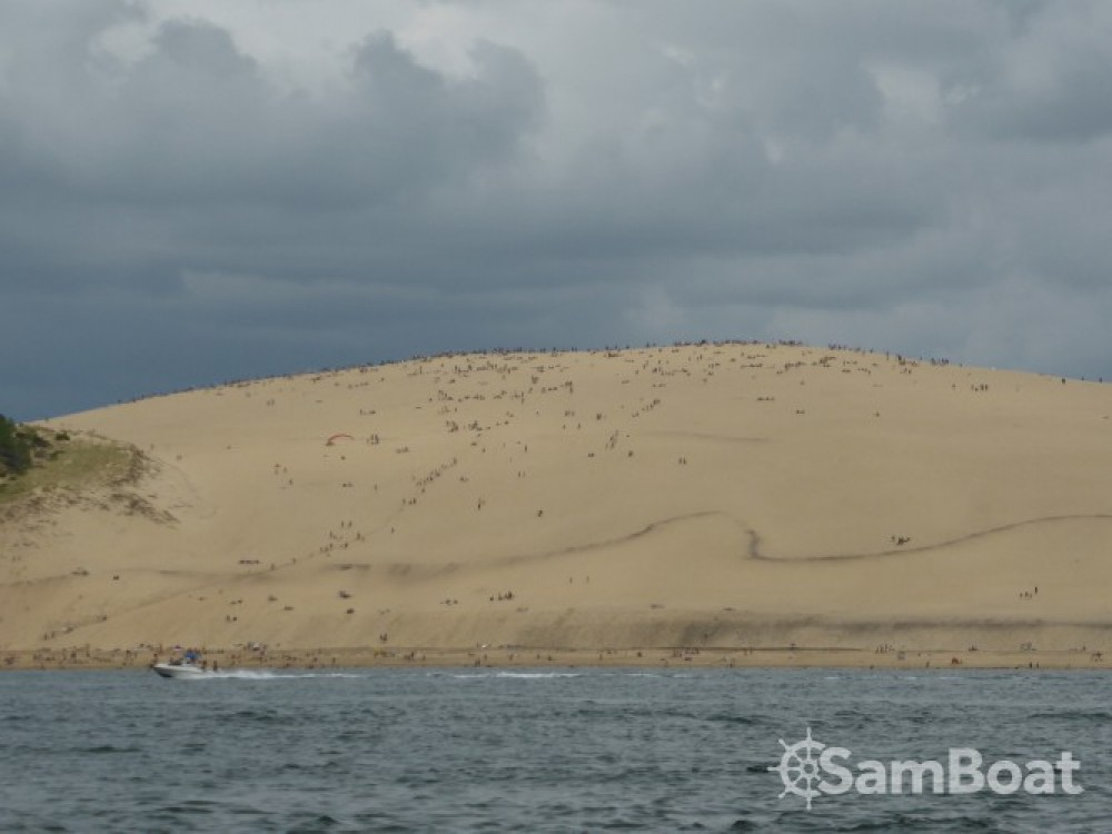 Bootverhuur Joker Boat Clubman 22 in Arcachon via SamBoat