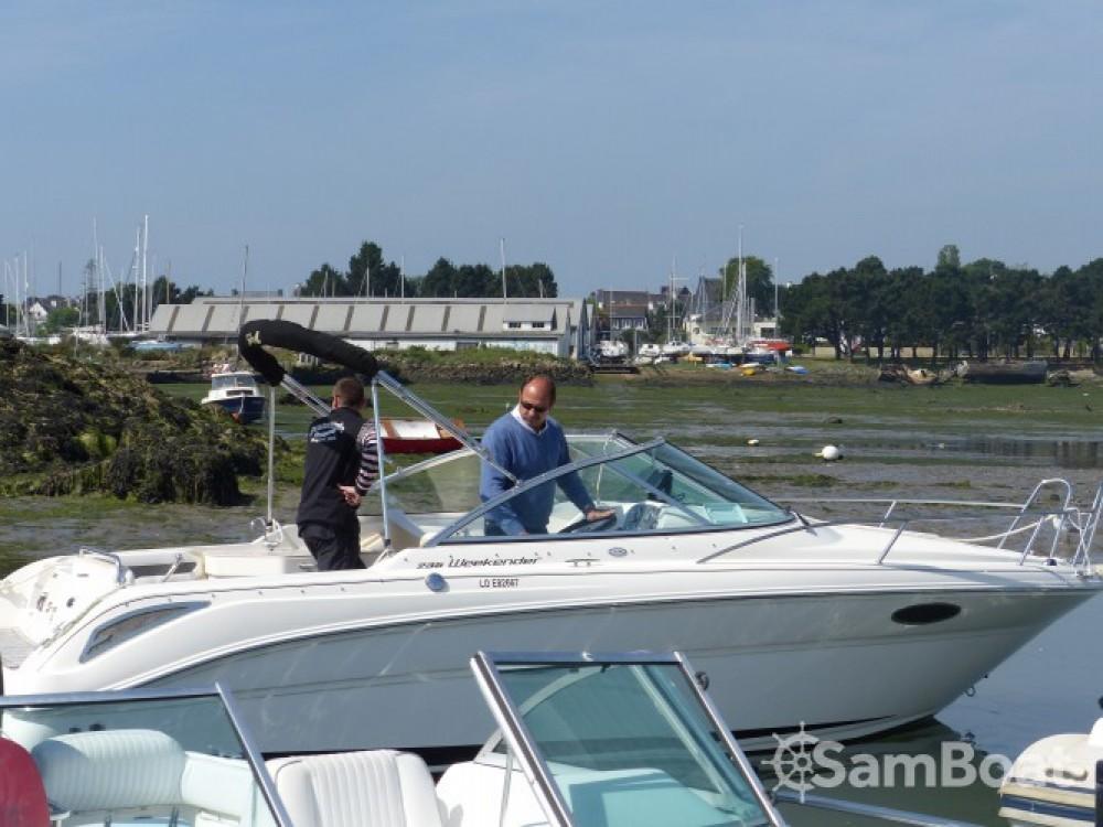 Verhuur Motorboot in Larmor-Plage - Sea Ray Sea Ray 235 Weekender