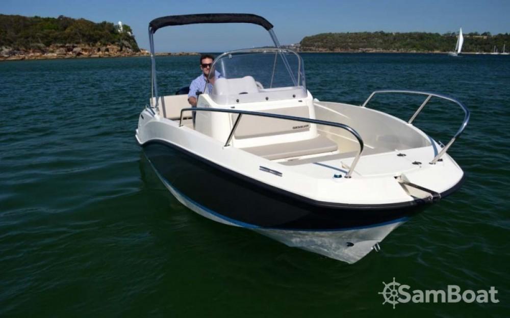 Verhuur Motorboot in Marseille - Quicksilver Quicksilver 555 Activ Open