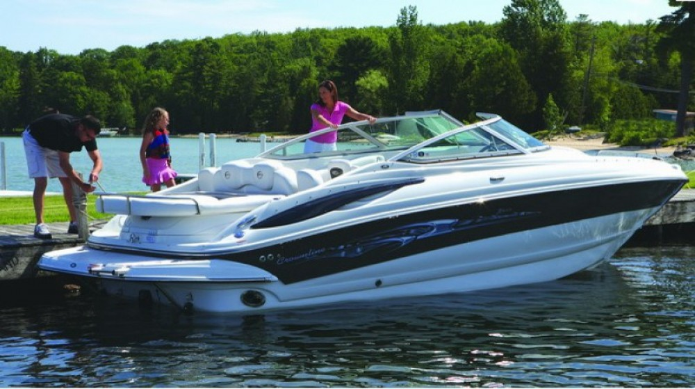 Verhuur Motorboot in Fréjus - Crownline Crownline 260 LS