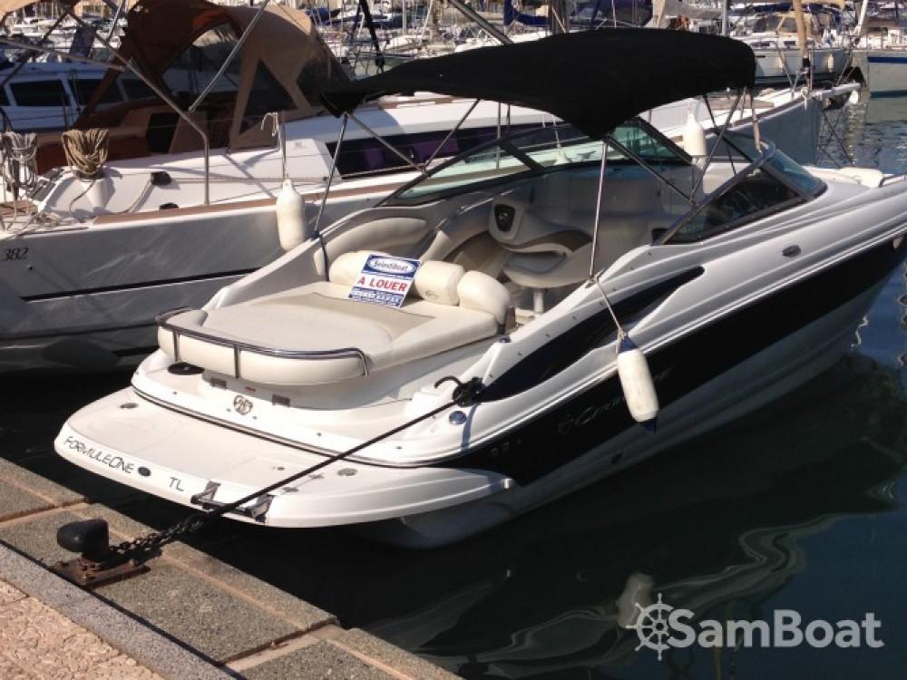 Huur Motorboot met of zonder schipper Crownline in Fréjus