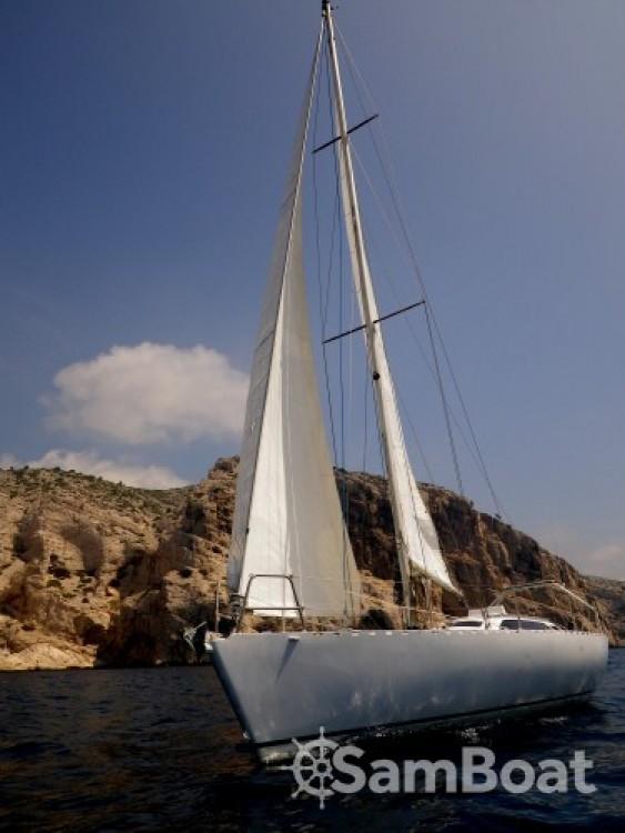 Verhuur Zeilboot Alu-Boat-Prestige met vaarbewijs