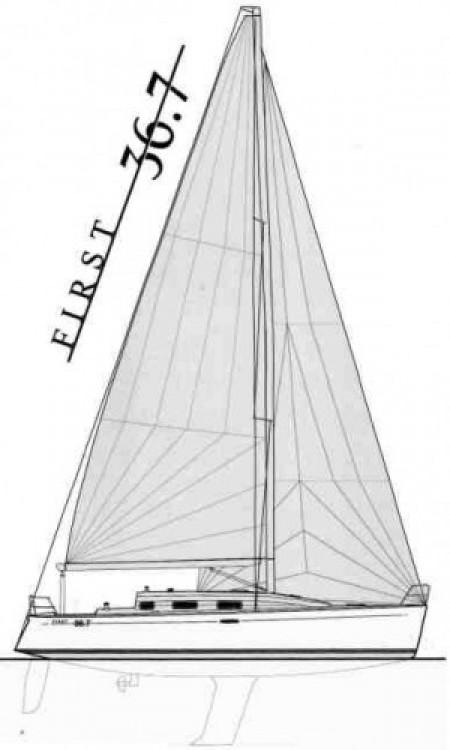 Verhuur Zeilboot in Tréauville - Bénéteau First 36.7