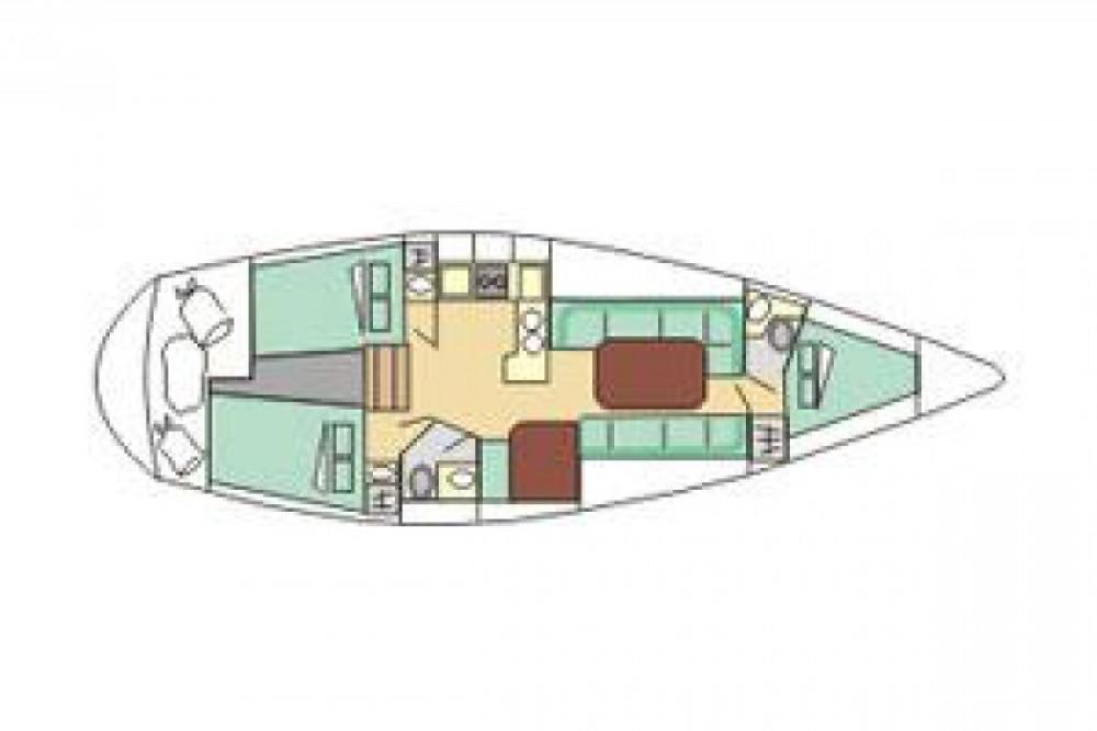 Verhuur Zeilboot in Siouville-Hague - Gibert Marine Gib Sea 114