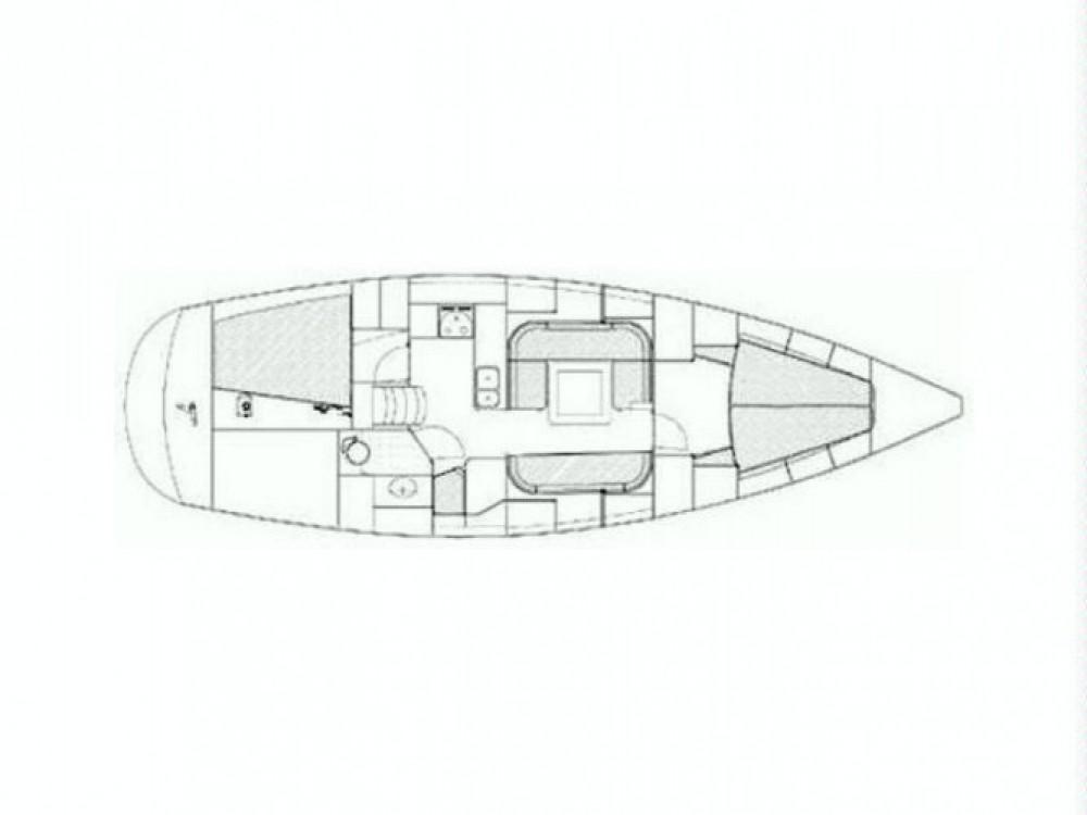 Verhuur Zeilboot in Tréauville - Jumbo Jumbo 40