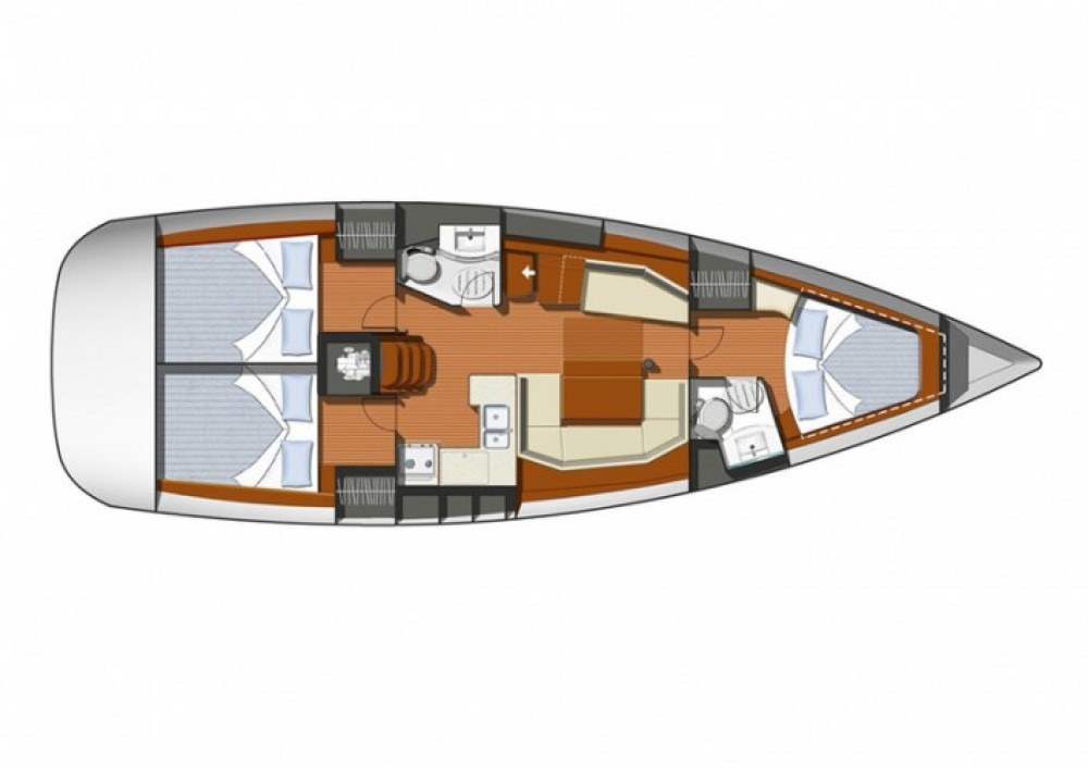 Verhuur Zeilboot in  - Jeanneau Sun Odyssey 42i