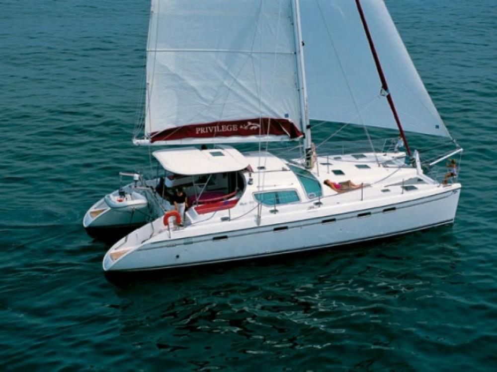 Huur Catamaran met of zonder schipper Alliaura Marine in Martinique