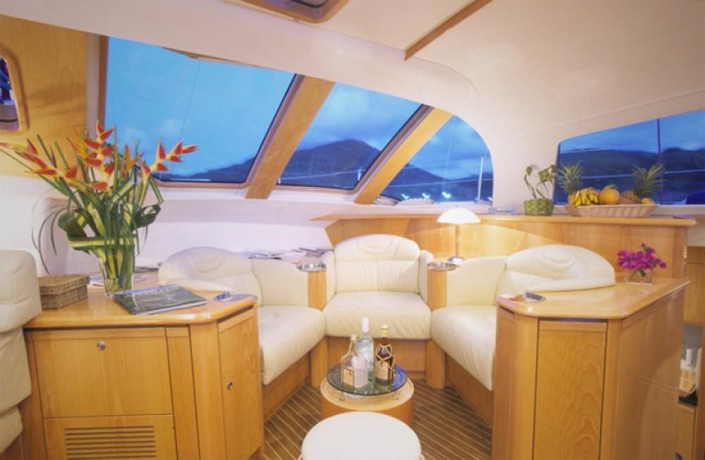 Verhuur Catamaran in Ajaccio - Alliaura-Marine Privilege 585