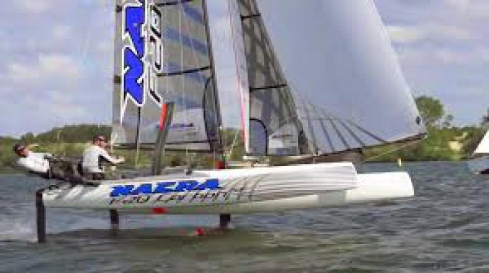 Verhuur Catamaran Nacra met vaarbewijs