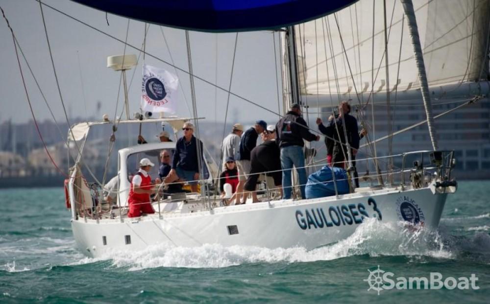 Huur Zeilboot met of zonder schipper Pouvreau in المنستير