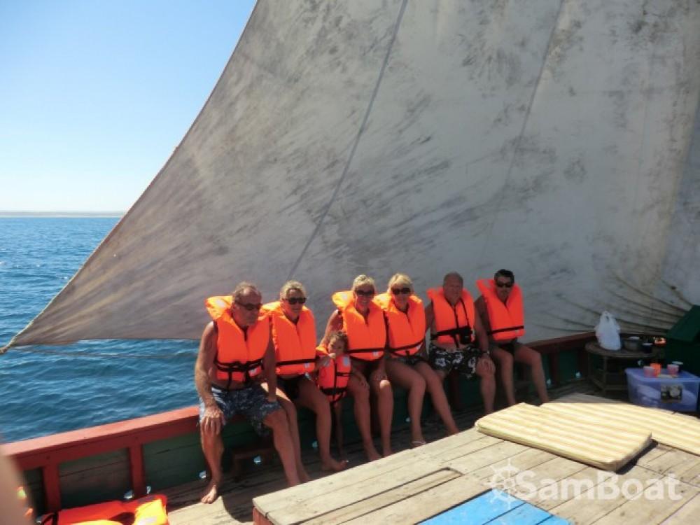 Zeilboot te huur in Toliara voor de beste prijs