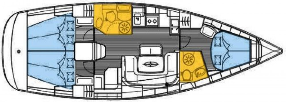 Jachthuur in Olbia - Bavaria Bavaria 39 Cruiser via SamBoat