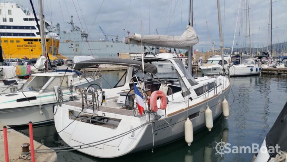 Bootverhuur Toulon goedkoop Oceanis 41