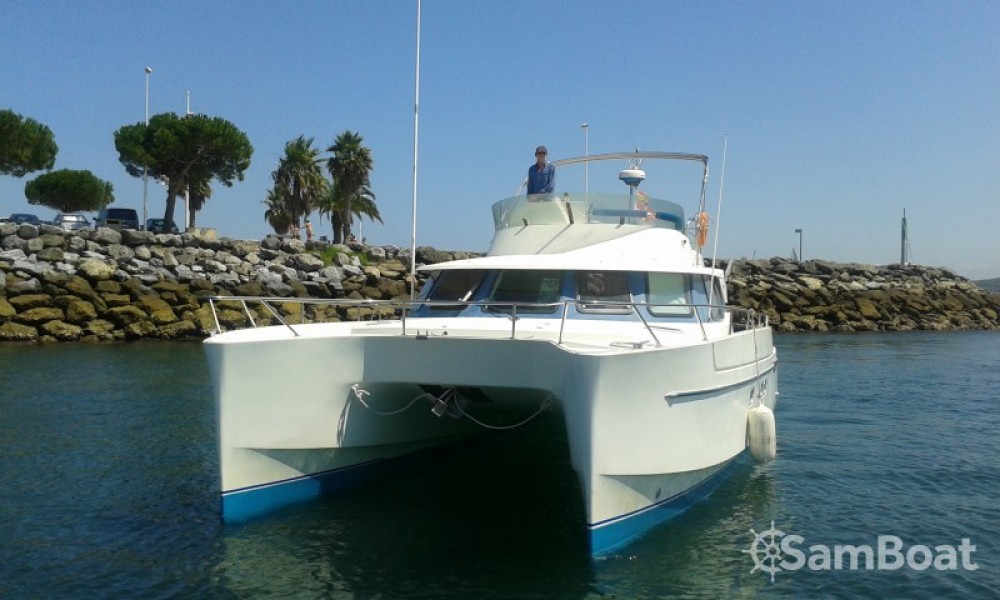 Jachthuur in Hendaye - Fountaine Pajot Maryland 37 via SamBoat