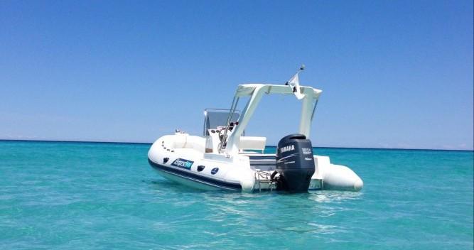 Huur Rubberboot met of zonder schipper Capelli in L'Île-Rousse