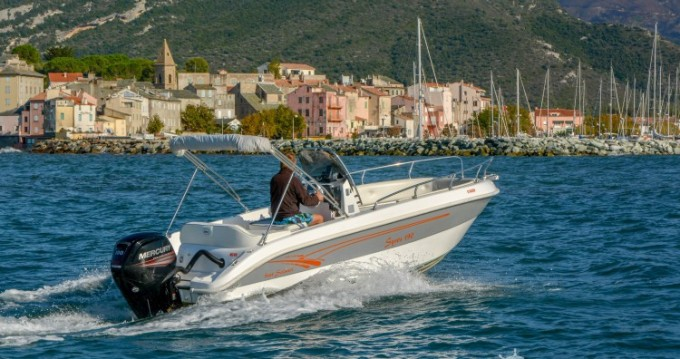 Salmeri Syros 190 te huur van particulier of professional in Saint-Florent