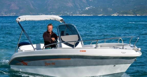 Verhuur Motorboot in Saint-Florent - Salmeri Syros 190