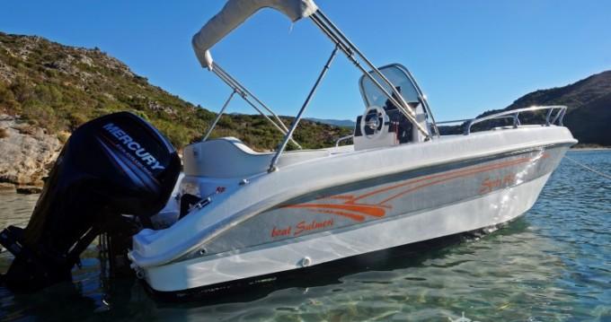 Huur Motorboot met of zonder schipper Salmeri in Saint-Florent