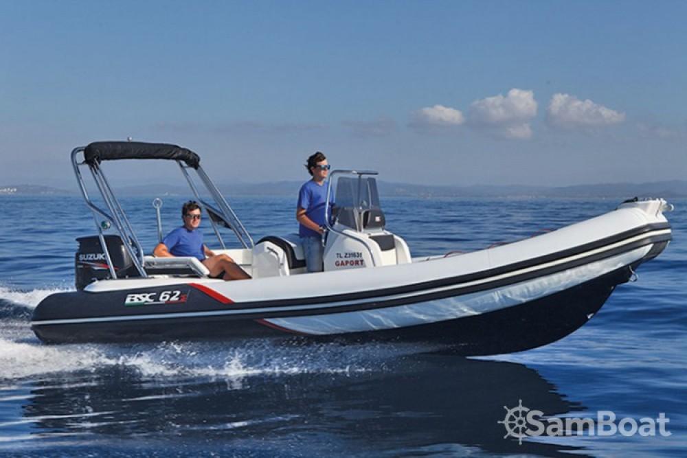 Verhuur Rubberboot in Ajaccio - Bsc BSC 62 Sport