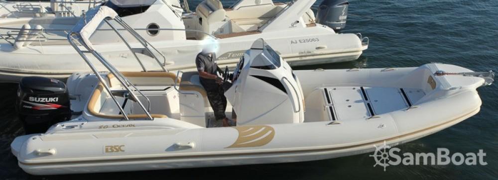 Bootverhuur Ajaccio goedkoop BSC 80 Ocean