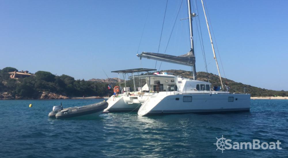 Huur Catamaran met of zonder schipper Lagoon in Bonifacio