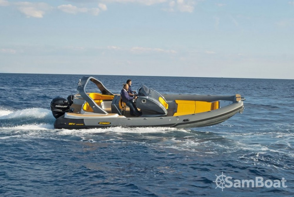 Huur Rubberboot met of zonder schipper Italboats in Hyères