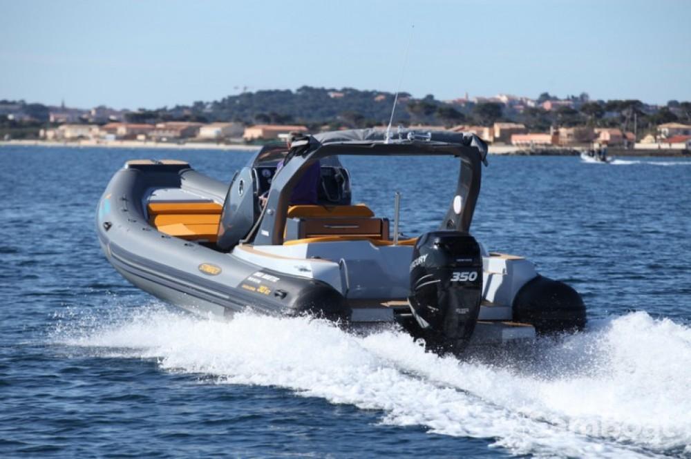 Verhuur Rubberboot Italboats met vaarbewijs