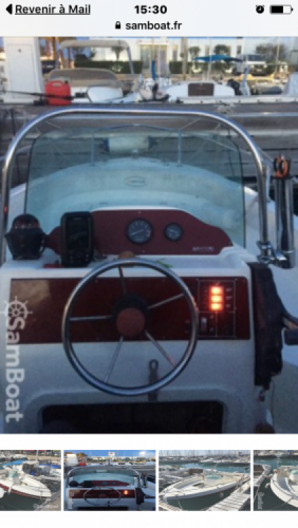 Jachthuur in Saint-Laurent-du-Var - Marinello Fisherman 16 via SamBoat