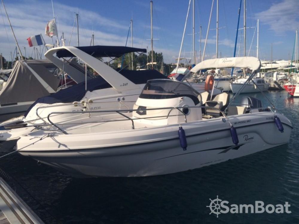 Verhuur Motorboot in Nice - Ranieri Shadow 20