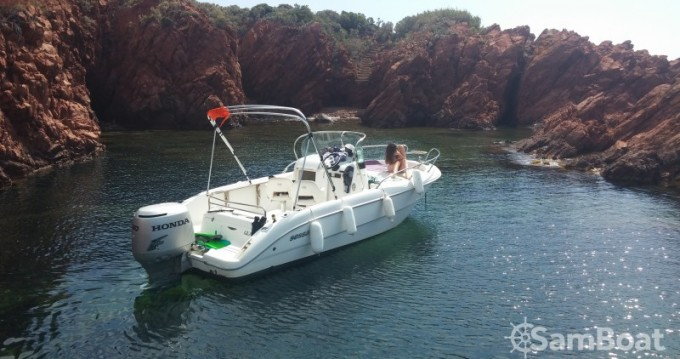 Verhuur Motorboot in Saint-Raphaël - Sessa Marine Key Largo 20