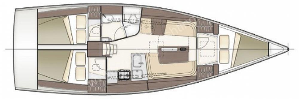 Jachthuur in Arzon - Delher 38 via SamBoat
