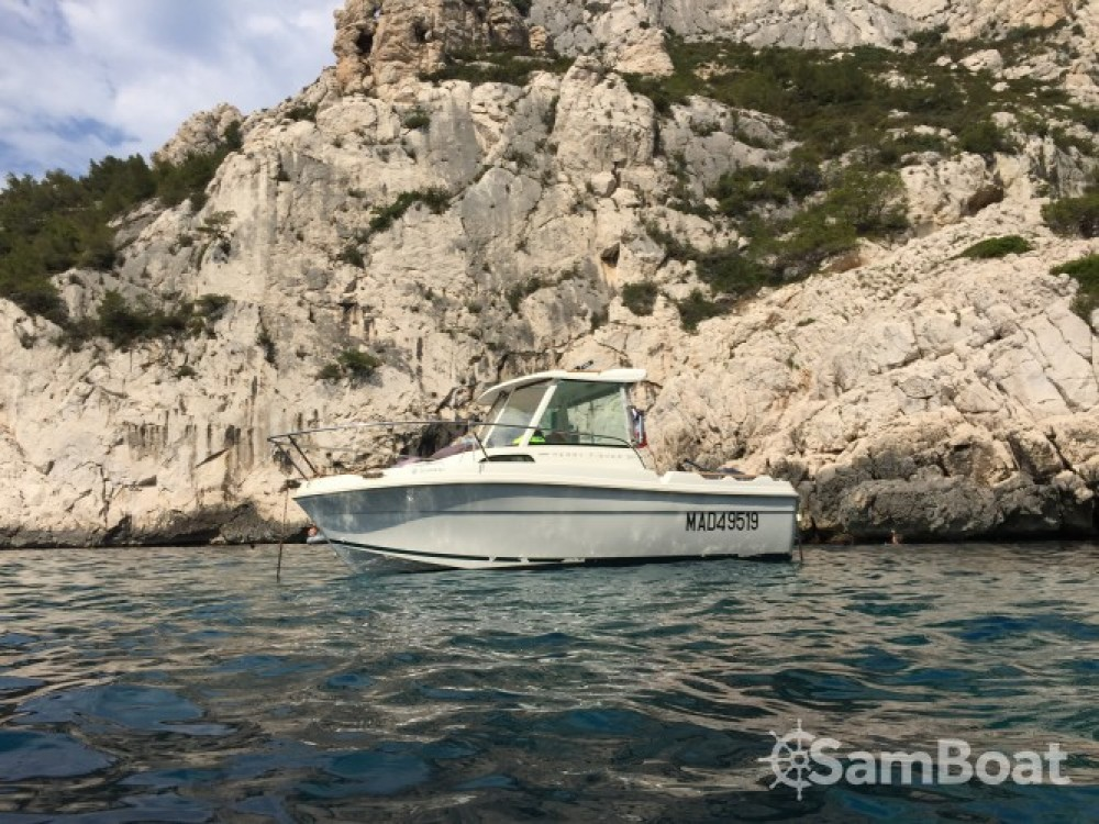 Jeanneau Merry Fisher 530 te huur van particulier of professional in Marseille