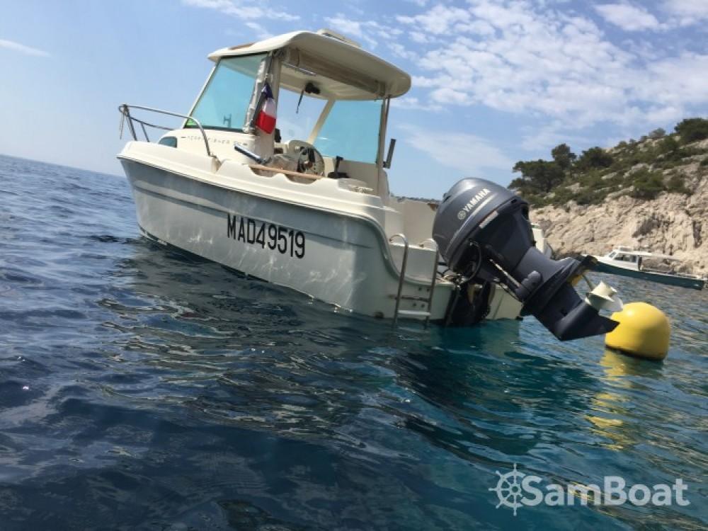 Bootverhuur Marseille goedkoop Merry Fisher 530