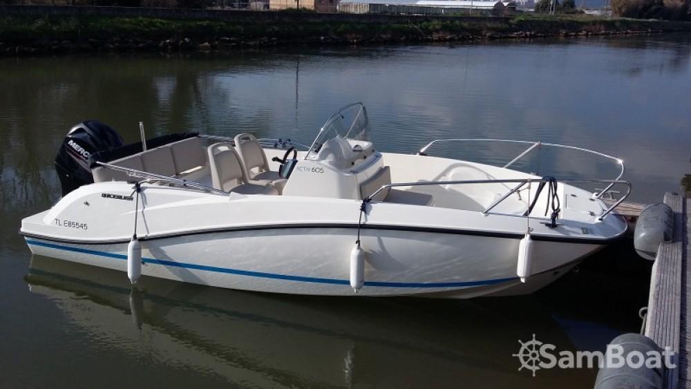 Verhuur Motorboot in Hyères - Quicksilver Activ 605 Open