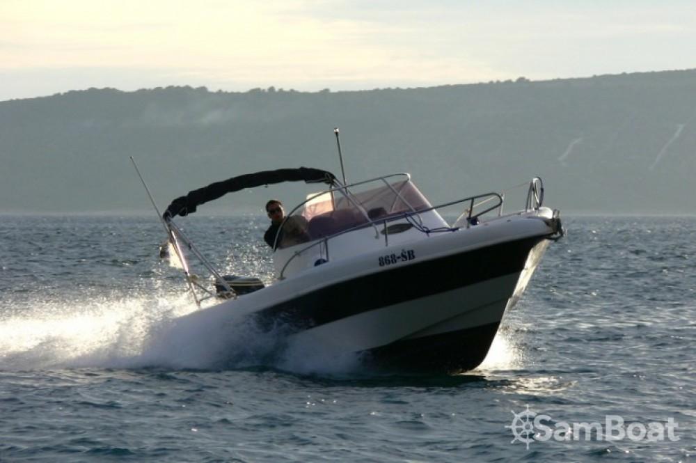 Huur Motorboot met of zonder schipper Seabird-655 in Kaštel Gomilica