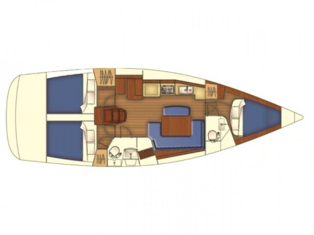 Bootverhuur Marmaris goedkoop Oceanis 40