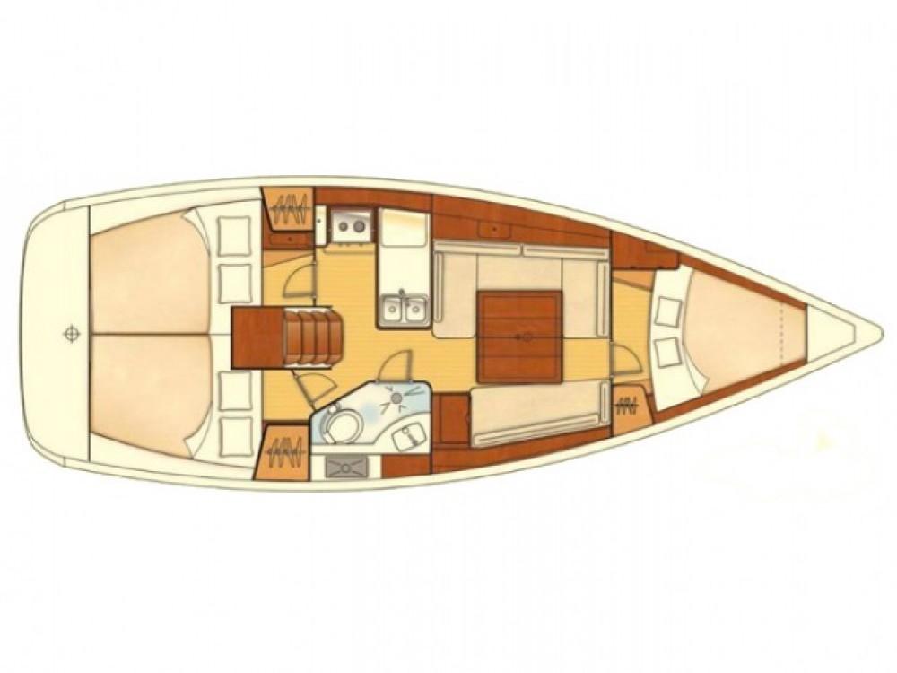 Bootverhuur Bénéteau Oceanis 34 in Marmaris via SamBoat