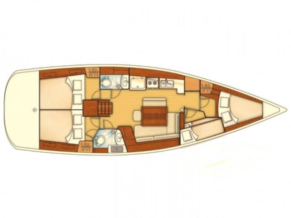 Verhuur Zeilboot in Marmaris - Bénéteau Oceanis 43