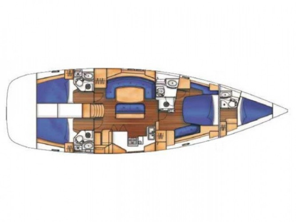 Verhuur Zeilboot in Marmaris - Bénéteau Oceanis 523