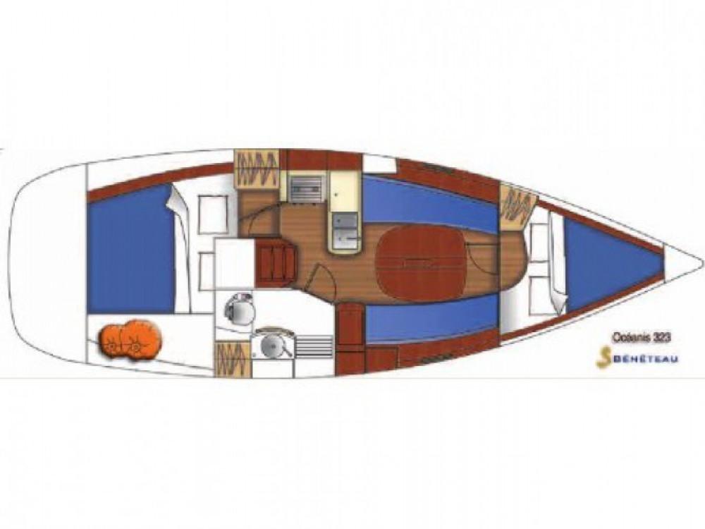 Verhuur Zeilboot in Trogir - Bénéteau Oceanis