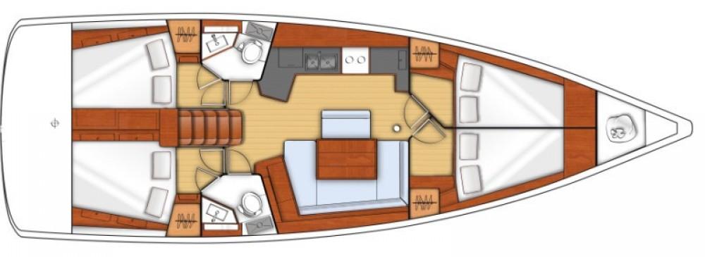Verhuur Zeilboot in Trogir - Bénéteau Oceanis 45