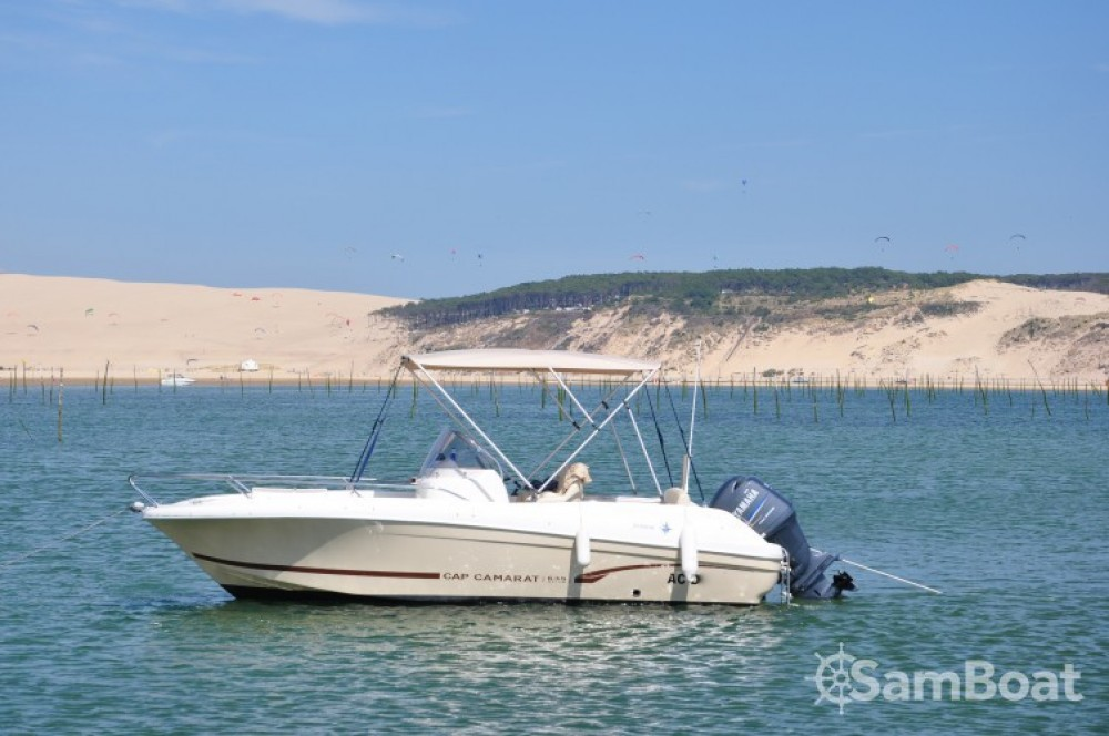 Verhuur Motorboot in Arcachon - Jeanneau Cap Camarat 635