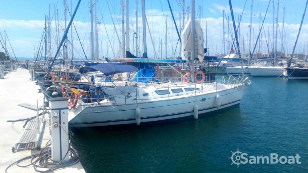 Huur Zeilboot met of zonder schipper Jeanneau in Valencia